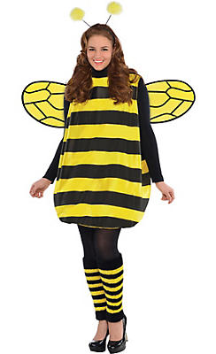 Bumble Bee Costume Accessories Bee Wings Headbands