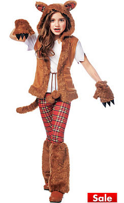 Werewolf costumes for kids adults werewolf halloween costumes girls howl o ween werewolf costume solutioingenieria Images