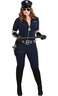 Police costumes sexy cop costumes for women party city adult stop traffic sexy cop costume plus size solutioingenieria Image collections