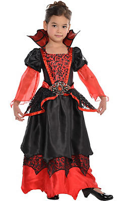 Vampire costumes for kids adults vampire costume ideas party toddler girls vampire queen costume solutioingenieria Gallery
