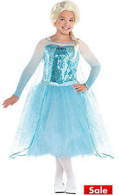 S Elsa Costume Premier Frozen