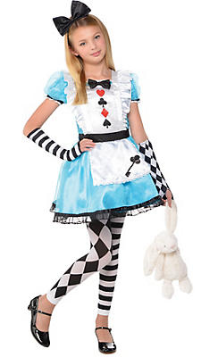 Alice in wonderland costumes alice in wonderland costume ideas girls alice costume solutioingenieria Image collections