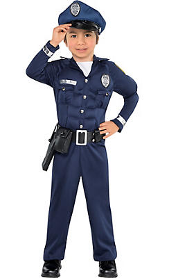 Police costumes sexy cop costumes for women party city toddler boys cop muscle costume solutioingenieria Images