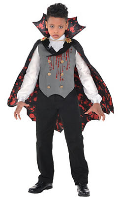 Vampire costumes for kids adults vampire costume ideas party city boys light up bloody vampire costume solutioingenieria Images