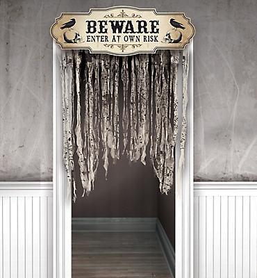 Halloween Door Decorations - Halloween Door Curtains   Party City