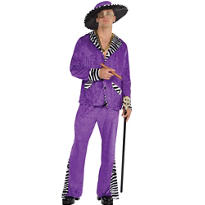 Adult Sugar Daddy Pimp Costume | Party City