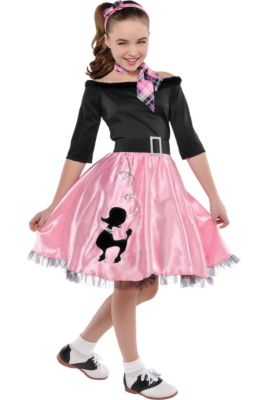1950 Halloween Costume Ideas.50s Costumes Sock Hop Costumes Poodle Skirts Car Hop Costumes