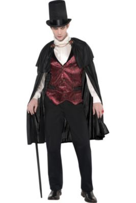 Vampire costumes for kids adults vampire costume ideas party city adult blood count vampire costume solutioingenieria Image collections