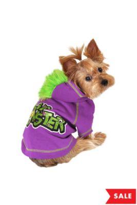 Purple Lil Monster Dog Costume