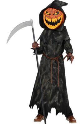 boys jack o lantern reaper costume
