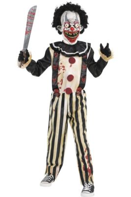 boys slasher clown costume