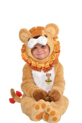 baby cowardly lion costume the wizard of oz