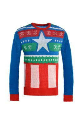 captain america ugly christmas sweater - Best Place To Buy Ugly Christmas Sweaters