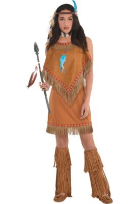 46afbeca4d5 Indian   Cowboy Costumes - Indian Halloween Costumes