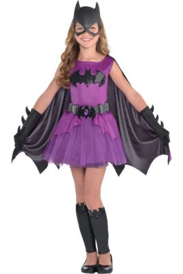 girls purple batgirl costume batman