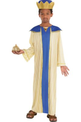 making adult christmas pageant costumes