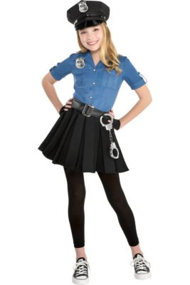 Girls Officer Cutie Cop Costume
