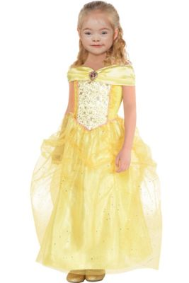 Girls Classic Belle Costume - Beauty and the Beast 4d13022461ee