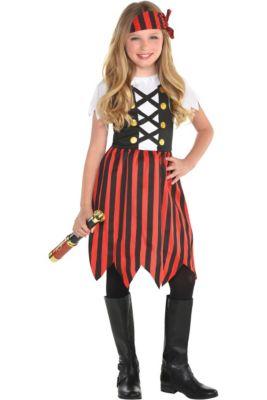 Pirate Costume Kids Tween Halloween Fancy Dress