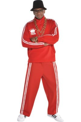 c8bbd9dbcf7 Adult Hip Hop Tracksuit Costume Accessory Kit