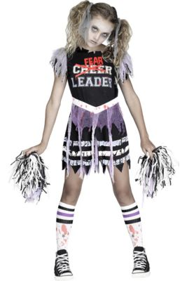 S Zombie Fearleader Costume