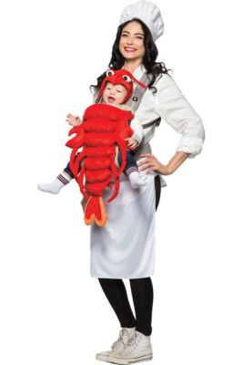Halloween costumes for women party city chef lobster mom baby costume solutioingenieria Images