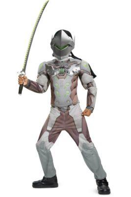 boys genji muscle costume overwatch