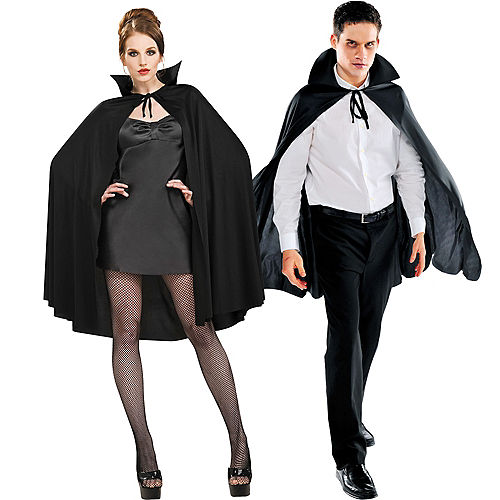 ac25998b0a Adult Black Cape Deluxe