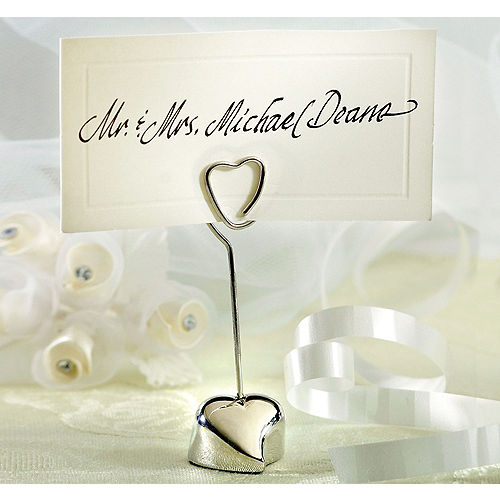 Wedding Place Cards   Wedding Place Card Holders | Party City