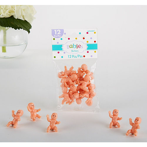 Tiny Baby Shower Favor Charms 12ct Party City