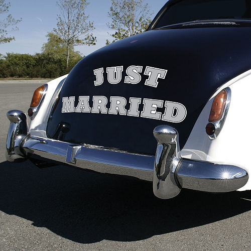 Just Married Car Magnets 11ct
