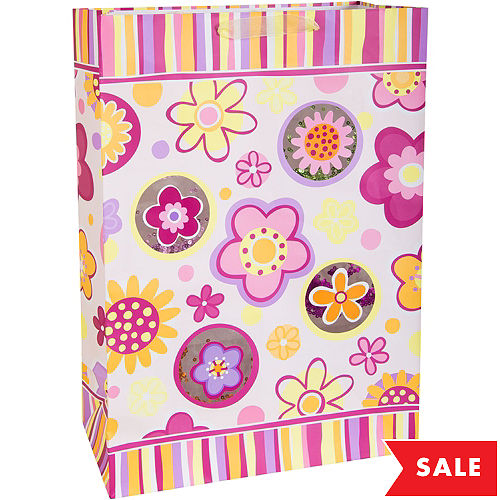 Gift bags gift wrap wrapping paper tissue paper party city fun flowers gift bag mightylinksfo