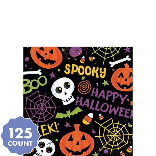 spooktacular beverage napkins 125ct