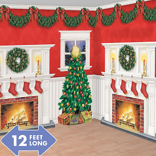 Christmas Scene Setters & Wall Decals | Party City Canada