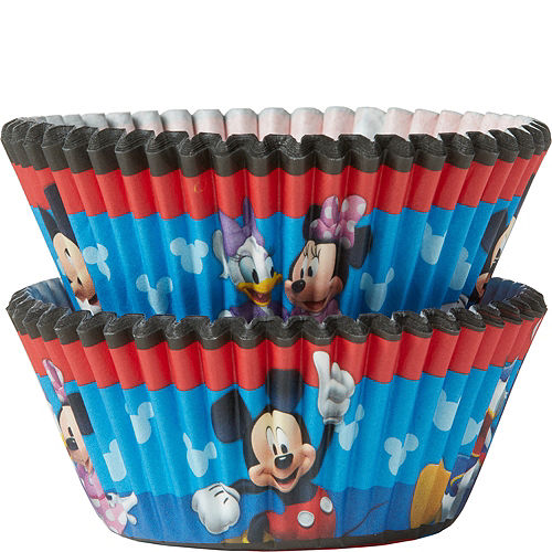 e8f6b94c359 Wilton Mickey Mouse Clubhouse Baking Cups 50ct