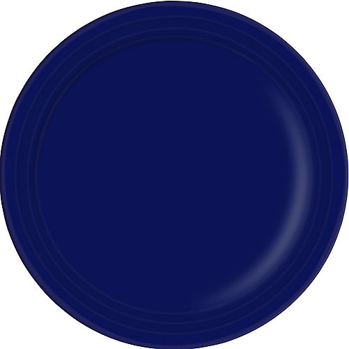 Navy Blue Paper Dinner Plates 20ct