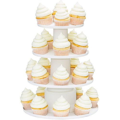 Wilton Four Tier White Cupcake Stand