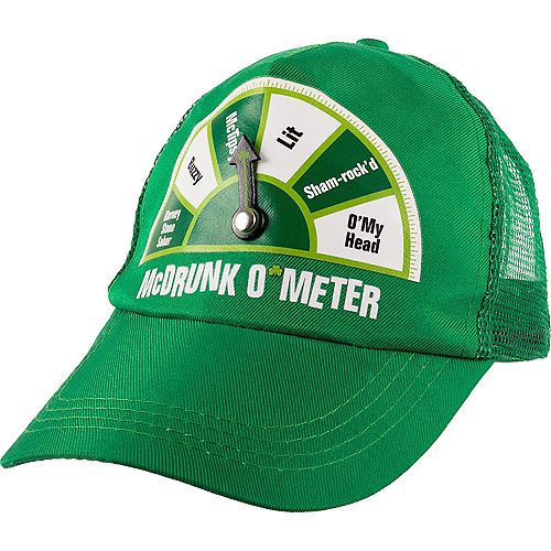 a24f007c174 McDrunk O Meter St. Patrick s Day Trucker Hat