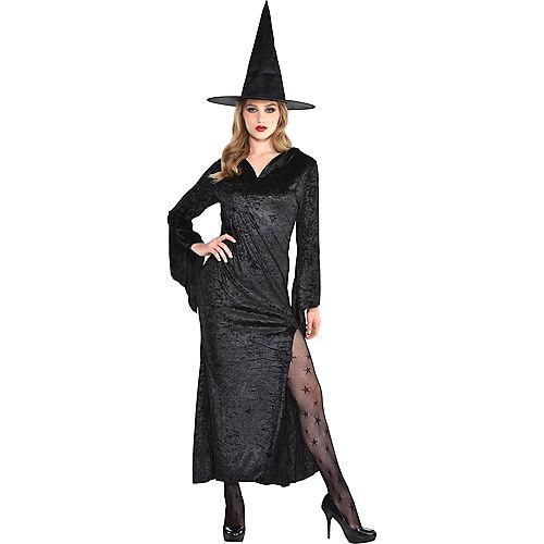 Black Basic Witch Dress