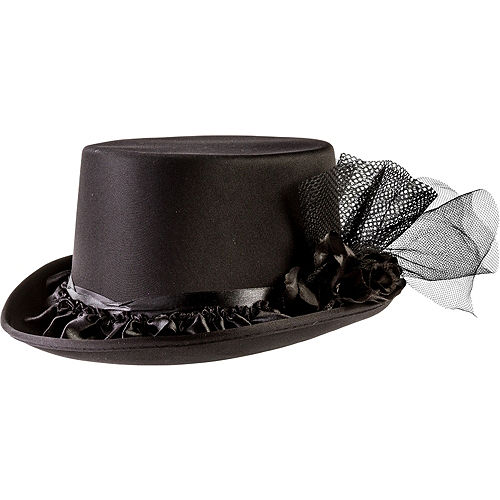 9dfffe1dea0 new authentic 958d5 e3dcc 2in blk felt top hat - anuarios-escolares.com