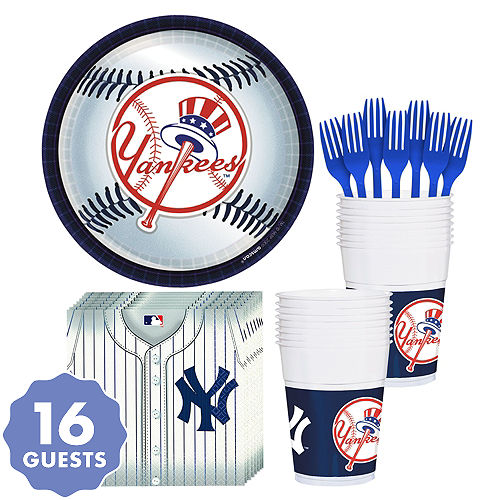d98a81193 New York Yankees Party Kit for 18 Guests