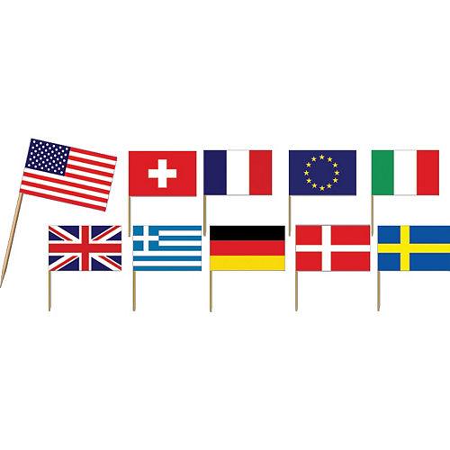 e7833cab4de International Flag Party Picks 50ct