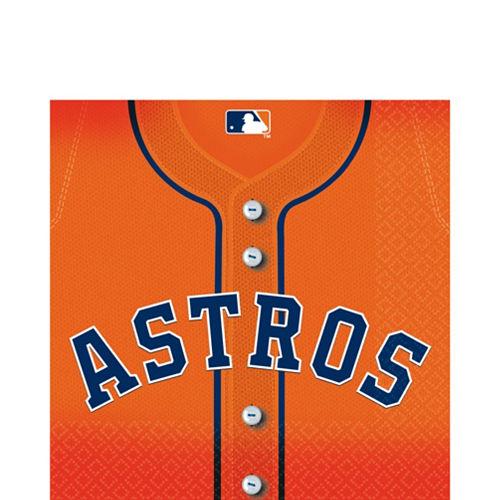 Houston Astros Lunch Napkins 36ct