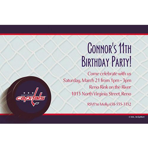 1c6b2945fe5 NHL Washington Capitals Party Supplies