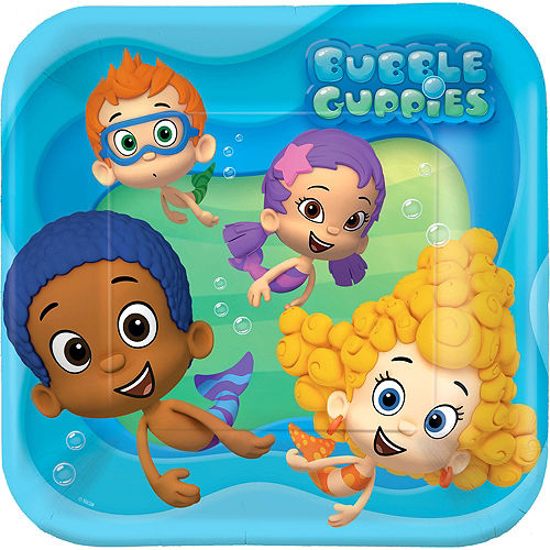Bubble guppies party supplies bubble guppies birthday party city bubble guppies lunch plates 8ct maxwellsz