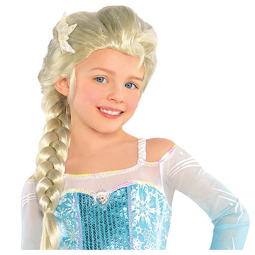 07f904a27b6 Frozen Elsa Wig for Girls | Party City
