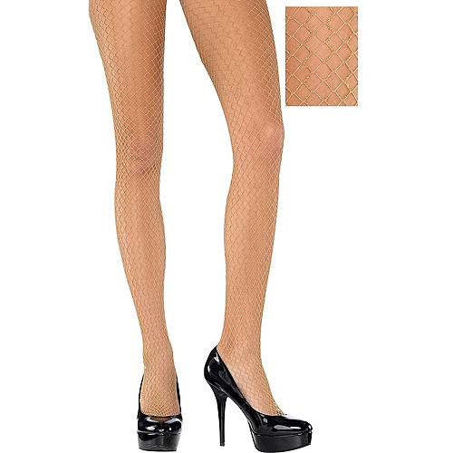 cd6e54f1c4d3f Fishnet Stockings & Pantyhose for Women | Party City
