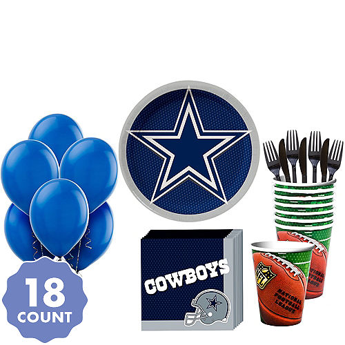 bded0f98a NFL Dallas Cowboys Party Supplies, Decorations & Party Favors ...