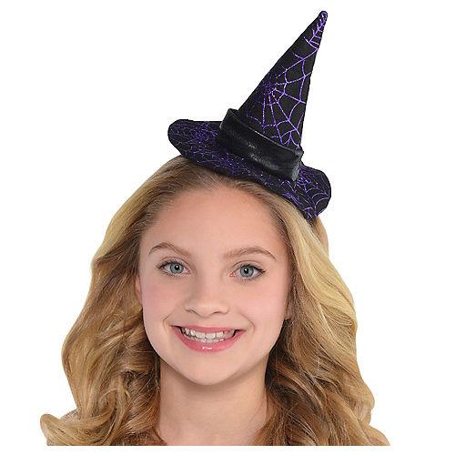 4c063a21894 Spider Web Witch Hat Headband