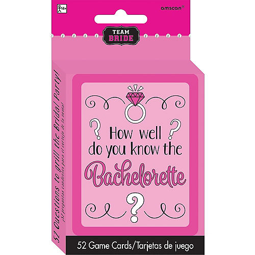 Bachelorette party supplies favors themes bachelorette party team bride how well do you know the bachelorette bachelorette party game solutioingenieria Gallery